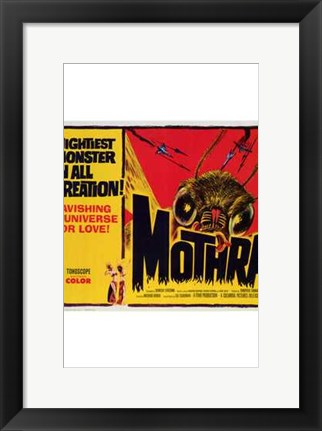 Framed Mothra Print