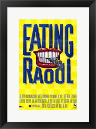 Framed Eating Raoul Print