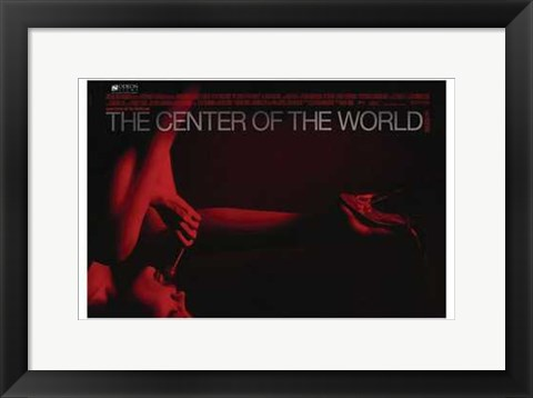 Framed Center of the World Print