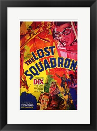 Framed Lost Squadron Print