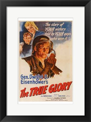 Framed True Glory Print