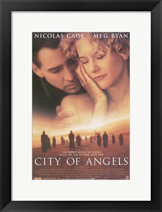 Framed City of Angels Print