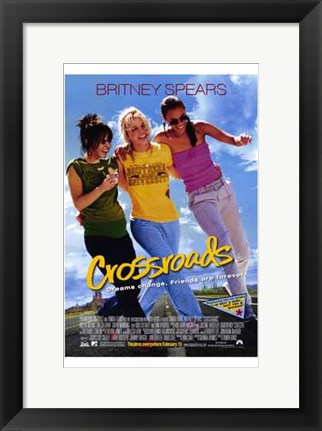 Framed Crossroads Britney Spears Print