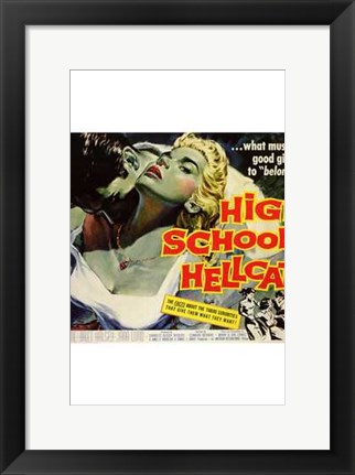 Framed High School Hellcats Print