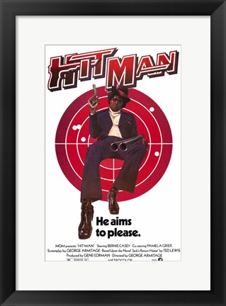 Framed Hit Man Print