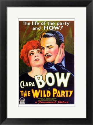 Framed Wild Party (movie poster) Print