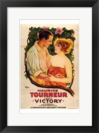 Framed Victory By Maurice Tourneur Print