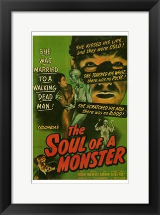 Framed Soul of a Monster Print