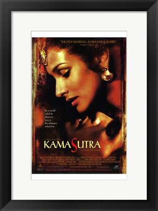 Framed Kama Sutra: a Tale of Love Print