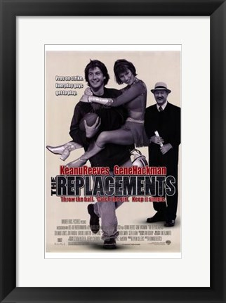Framed Replacements Print