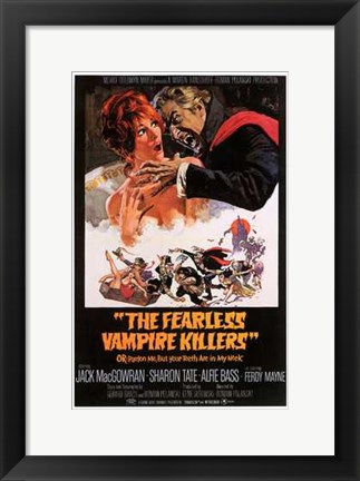 Framed Fearless Vampire Killers Print