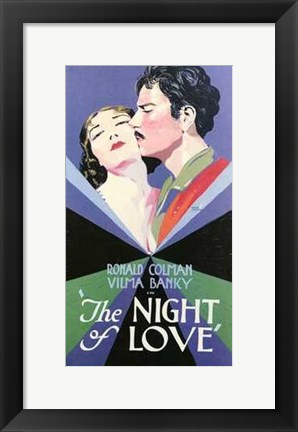 Framed Night of Love Print