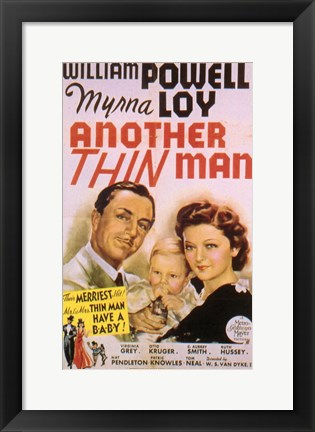 Framed Another Thin Man Print
