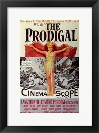 Framed Prodigal Print