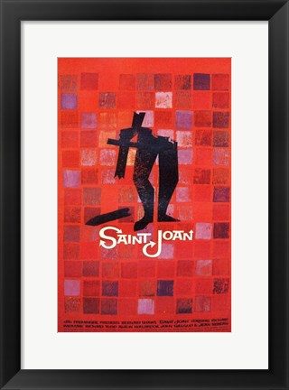 Framed Saint Joan Print