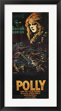 Framed Polly Print