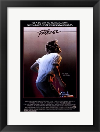 Framed Footloose Print