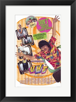 Framed Uhf Film Print