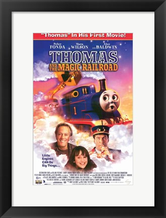 Framed Thomas and the Magic Railroad Movie Print