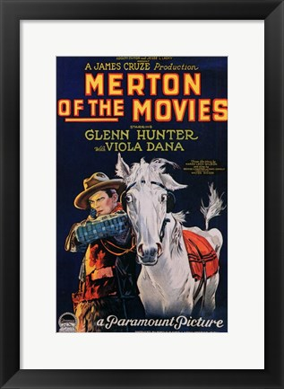 Framed Merton of the Movies Print