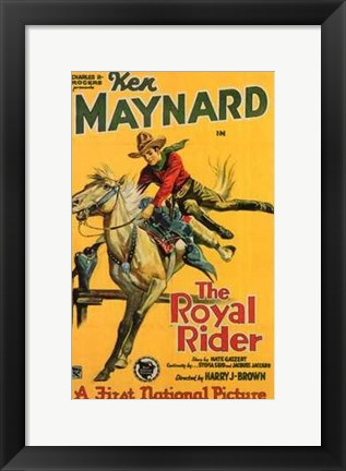 Framed Royal Rider Print