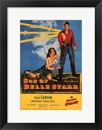 Framed Son of Belle Starr Print