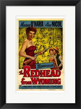 Framed Redhead from Wyoming Print