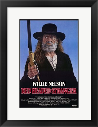 Framed Red Headed Stranger Print