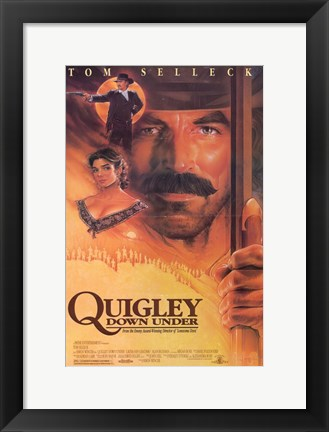 Framed Quigley Down Under Print