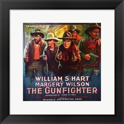 Framed Gunfighter Print