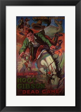 Framed Dead Game Print