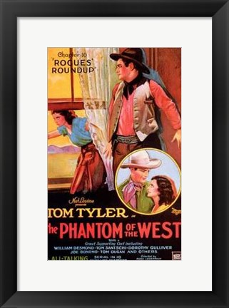 Framed Phantom of the West Rogues Roundup Print