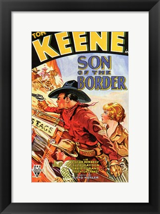 Framed Son of the Border Print