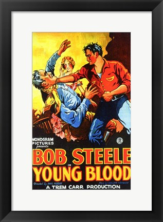 Framed Young Blood Print