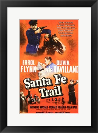 Framed Santa Fe Trail Print