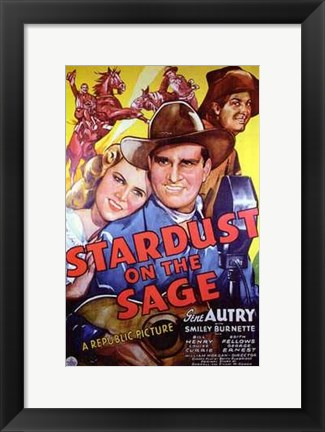 Framed Stardust on the Sage Print