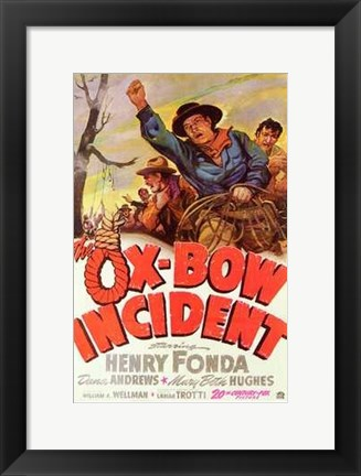 Framed Ox-Bow Incident Print