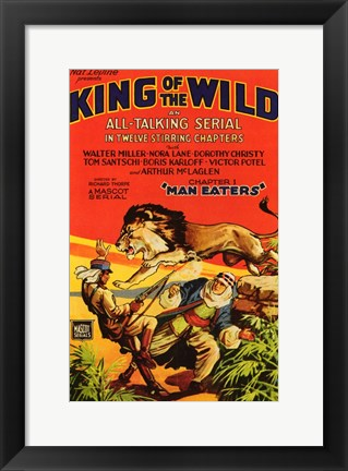 Framed King of the Wild - Chapter 1 Print