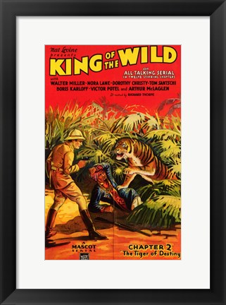 Framed King of the Wild - Chapter 2 Print