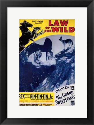 Framed Law of the Wild Print