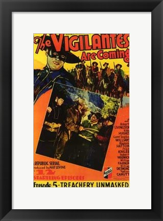 Framed Vigilantes Are Coming Episode 5 Print
