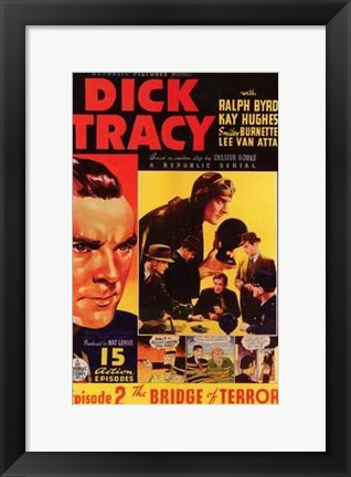 Framed Dick Tracy Comic: Episode 2 Print