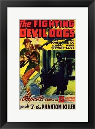 Framed Fighting Devil Dogs Episode 7 Print
