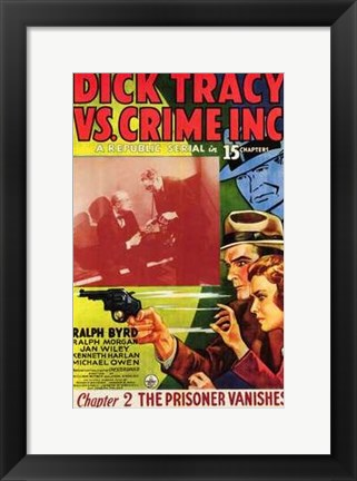 Framed Dick Tracy Vs Crime Inc Chapter 2 Print