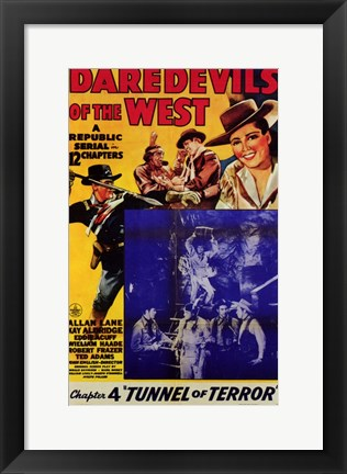 Framed Daredevils of the West Chapter 4 Print
