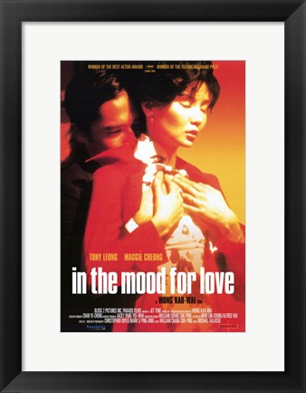Framed In The Mood for Love Maggie Cheung Print