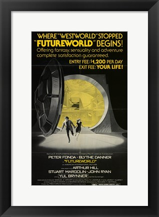 Framed Futureworld Print