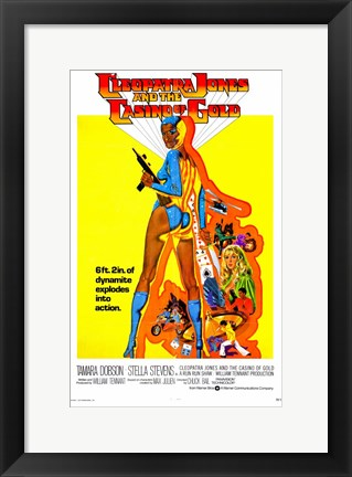 Framed Cleopatra Jones and the Casino of Gold, c.1975 Print