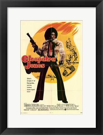 Framed Cleopatra Jones, c.1973 - style B Print