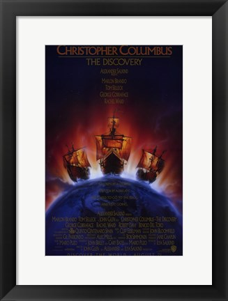 Framed Christopher Columbus the Discovery Print